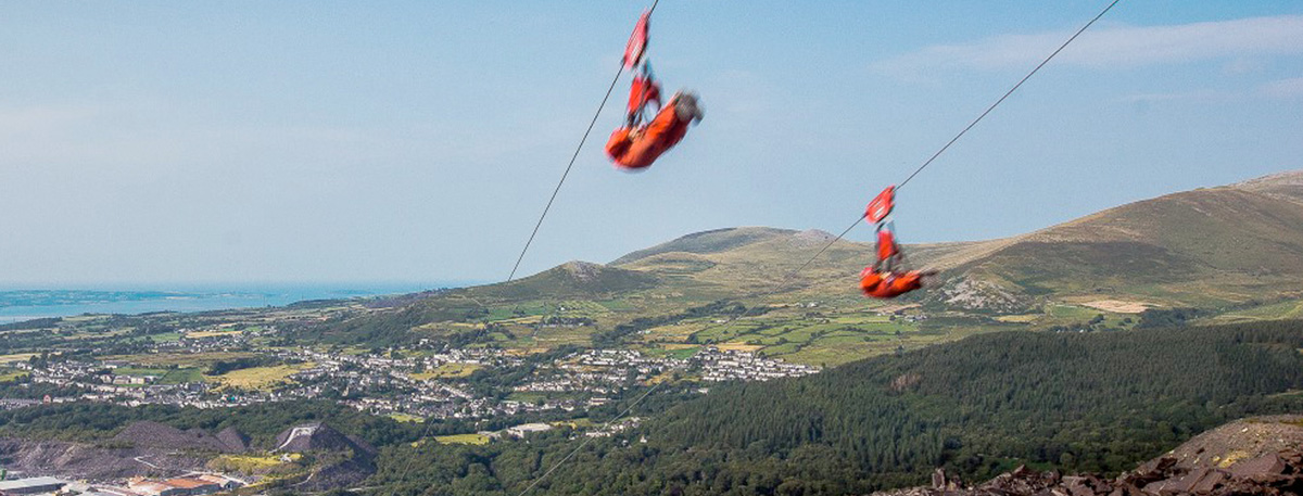 Experience Snowdonia from tip to zip | Challenges