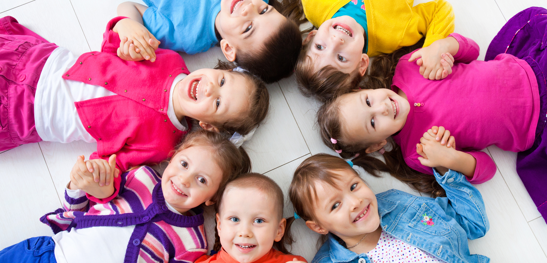 Children in a circle on the ground